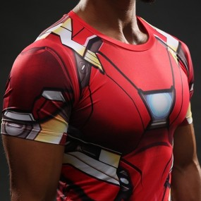 Iron Man 3D Gym Shirt