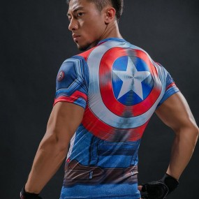PLAYERA CAPITAN AMERICA CIVIL WAR