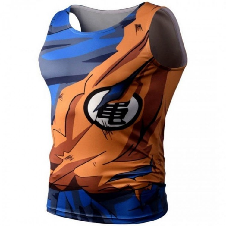 Playera Goku Batalla Gym Dragon Ball Z