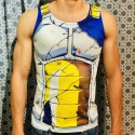 Playera Vegeta Dragon Ball Tirantes