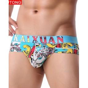 Trusa kaixuan Mesh Print Male Underwear
