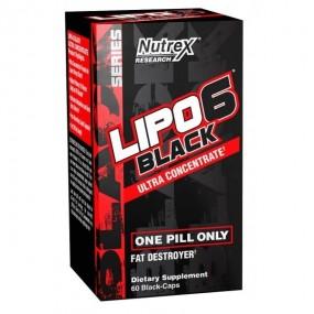 Lipo 6 Black QUEMADOR