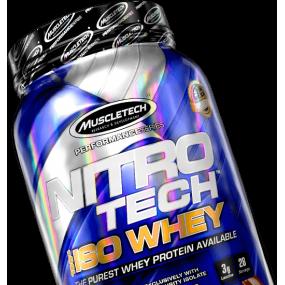 Nitro-Tech 100% Iso Whey 5 Lb Vainilla