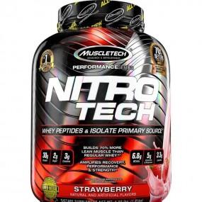Proteina Nitro-Tech 4 Lb 1.81 Kg Fresa