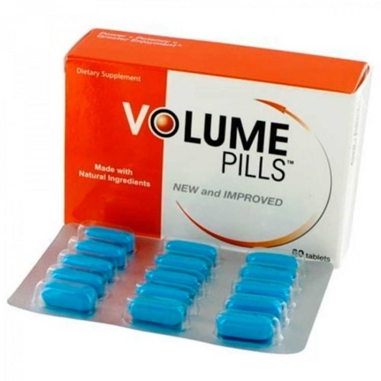 Volume Pills Aumenta la Cantidad de Semen