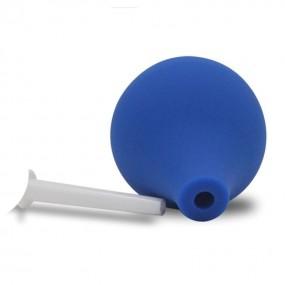 Bombilla 89ml Ducha Enema Limpieza Anal Azul