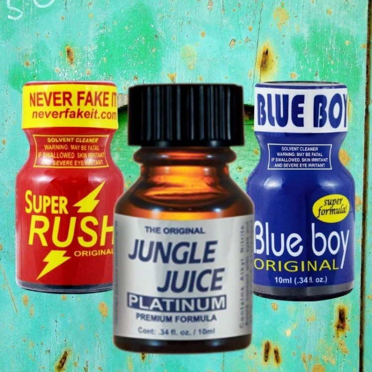 Plus 3pack Poppers
