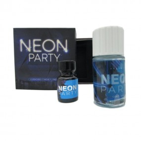 Neon Party Blue 40ml Poppers
