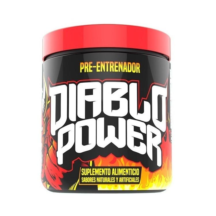 Diablo Power Pre Entrenador Uva 204gr