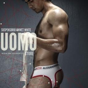 Suspensorio Unwet White