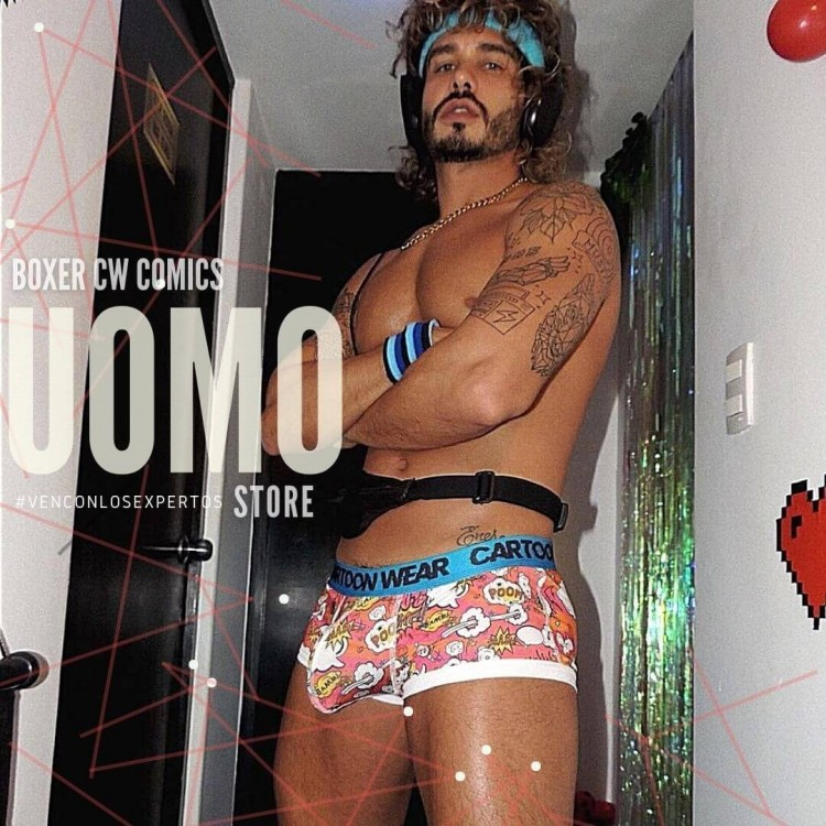 Boxer CW Comics