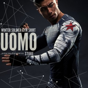 Winter Soldier Gym Shirt