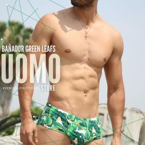 Bañador Green Leafs