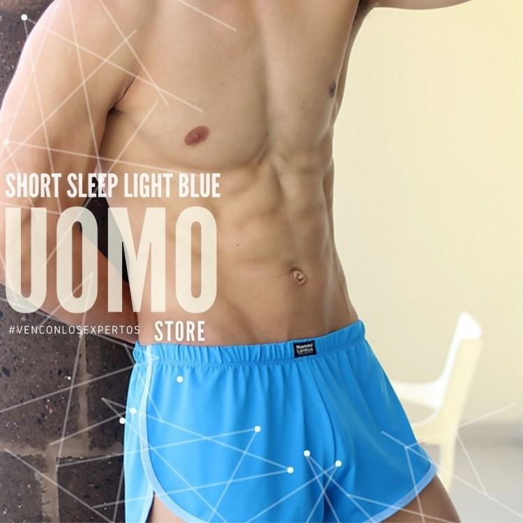 Short Sleep Light Blue