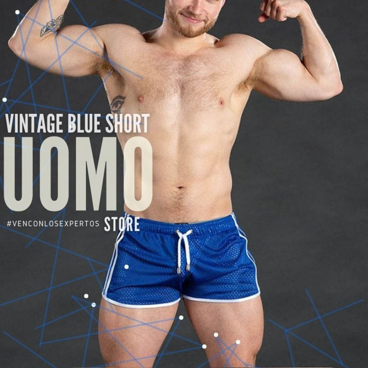 Vintage Blue Short