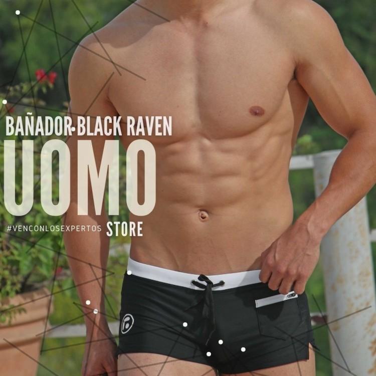 Bañador Black Raven