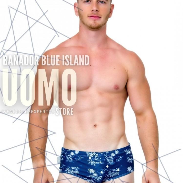 Bañador Blue Island