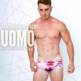 Bañador Pink Palms