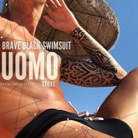 Brave Black Swimsuit