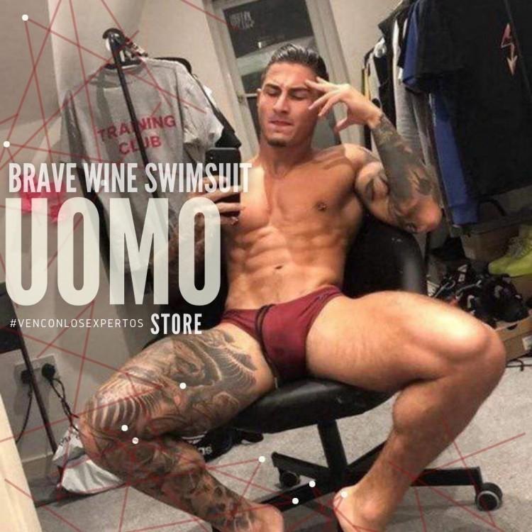 Brave Wine Swimsuit