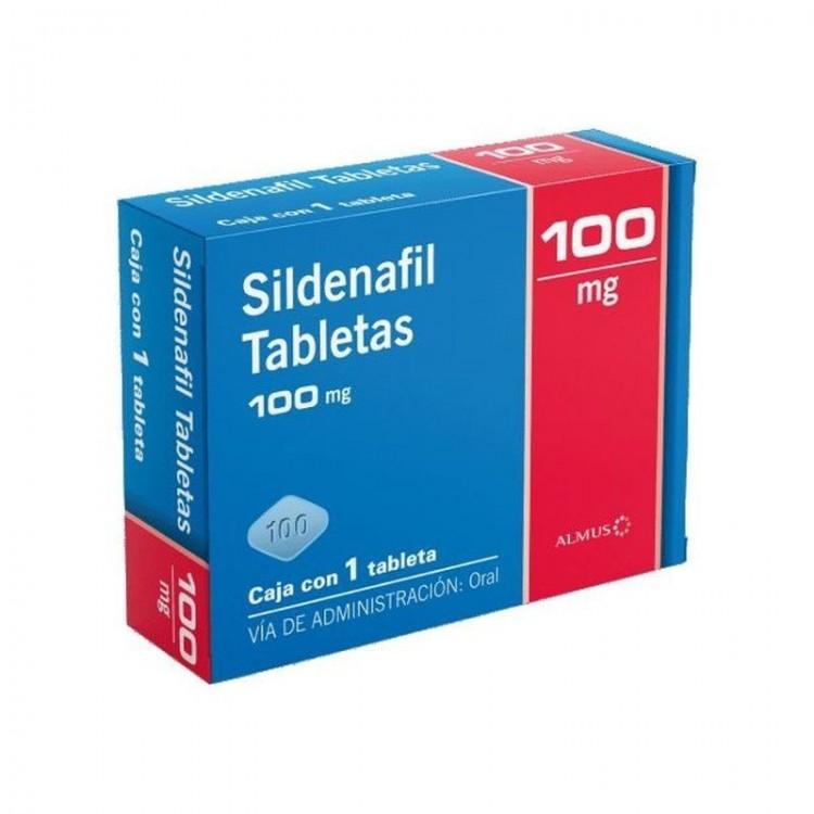 Sildenafil Tableta 100mg Almus