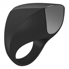 Ovo A1 Rechargeable Ring Black Chrome