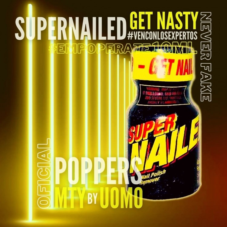 Super Nailed Poppers 10ml