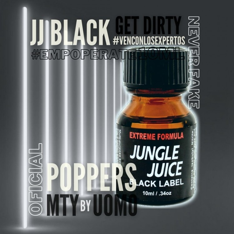 Popper Jungle Juice Black 10ml