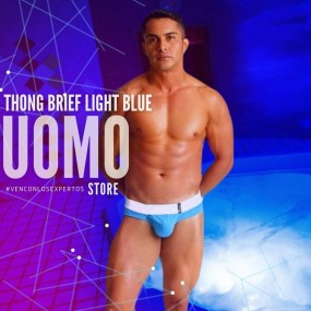 Thong Brief Light Blue