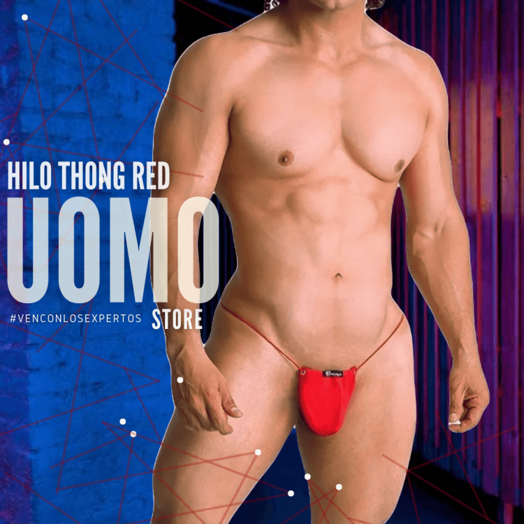 Hilo Thong Red
