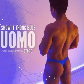 ShowIt Thong Blue