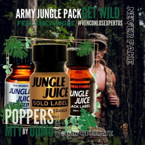 Pack 3 Poppers Jungle Juice
