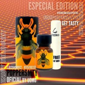 Poppers BumbleBee 40ml + Inhalador