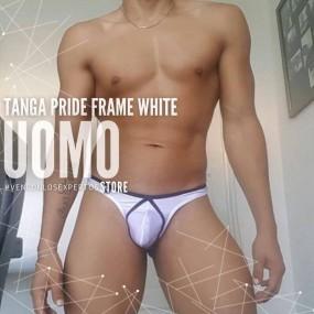 Tanga Pride Frame White