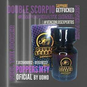 Poppers Double Scorpio Sapphire 10ml