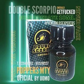 Poppers Double Scorpio Emerald 10ml
