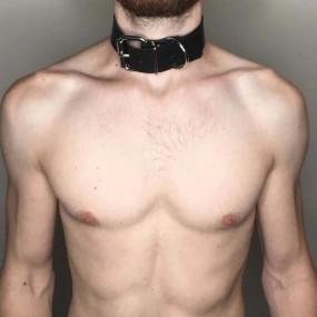 Collar Slave PU para Adultos