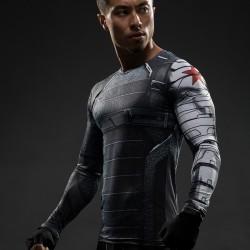 Winter Soldier 3D Gym Shirt