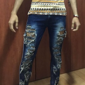 Pantalon Colombia Feeling Blue
