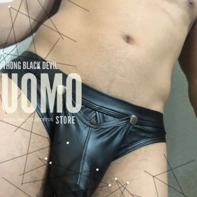 Thong Black Devil