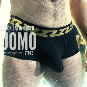Black Latin Boxer